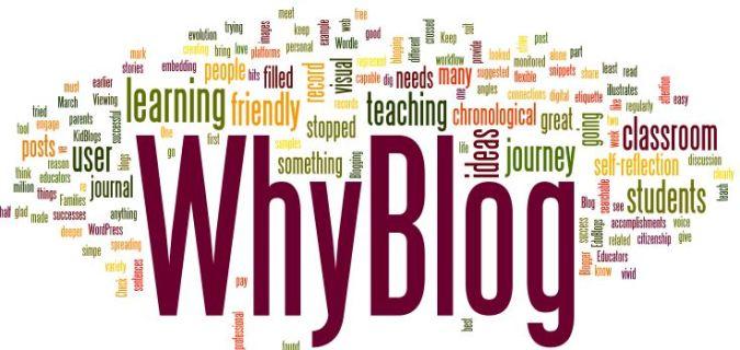whyblog?